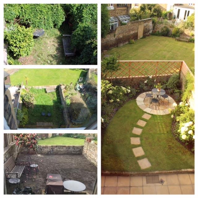 greenwich small garden