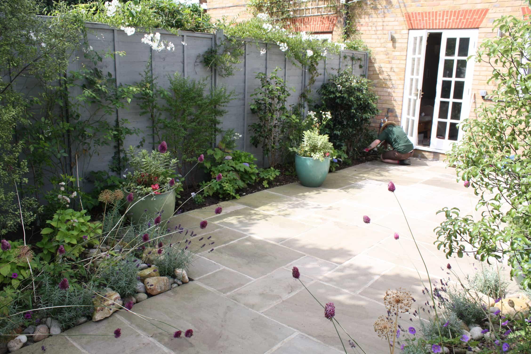 peckham blue garden