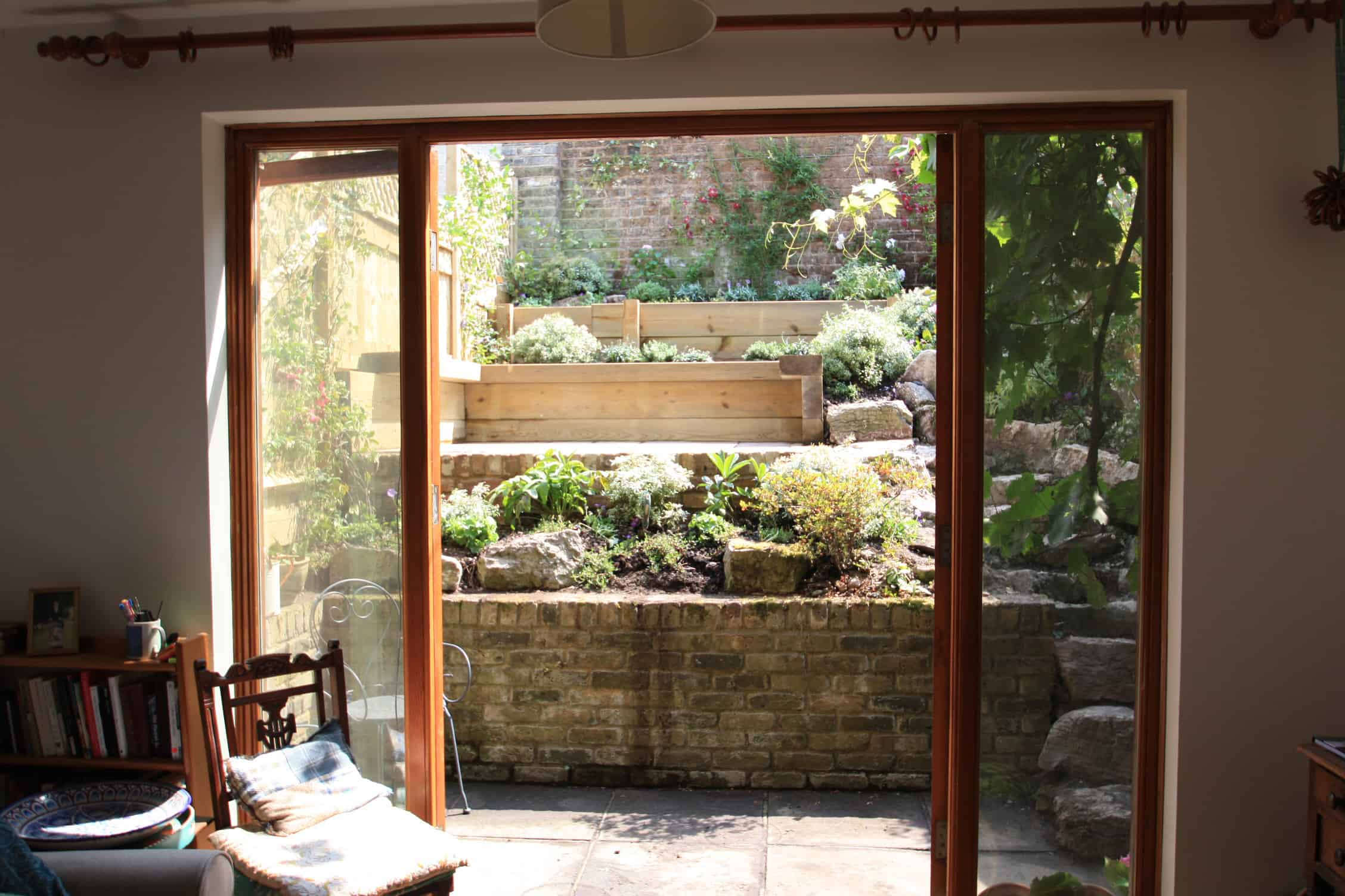 Greenwich terraced garden - Garden Design London ...